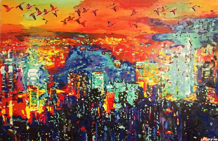 Hong Kong - MARIA MAGIC ART