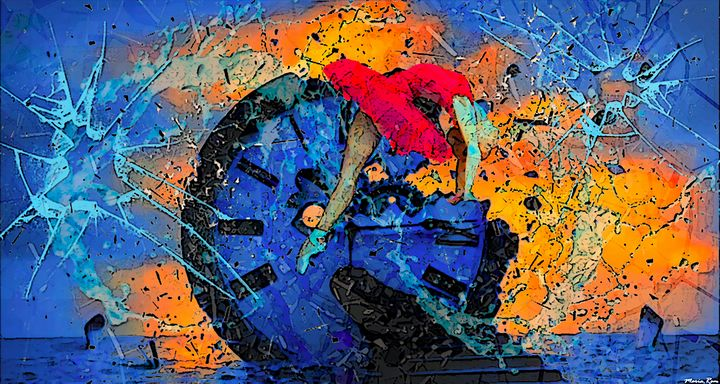 Time matrices - MARIA MAGIC ART