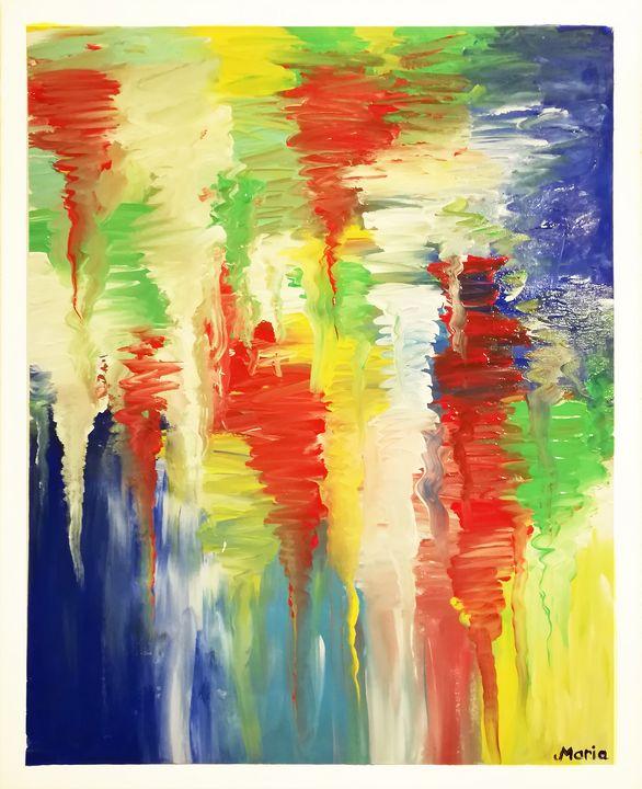 Flow colors - MARIA MAGIC ART