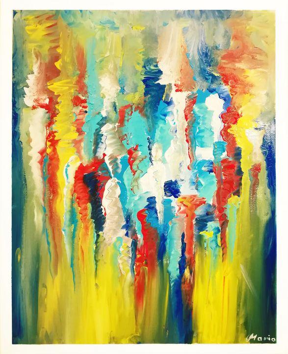Flow river colors - MARIA MAGIC ART