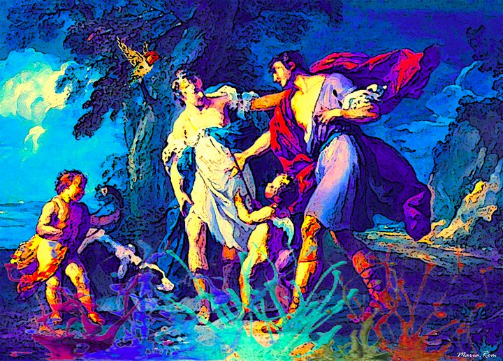 Venus and Adonis - MARIA MAGIC ART