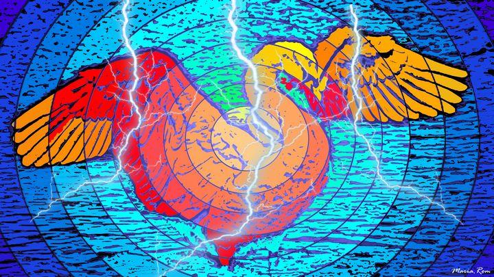Swan - MARIA MAGIC ART