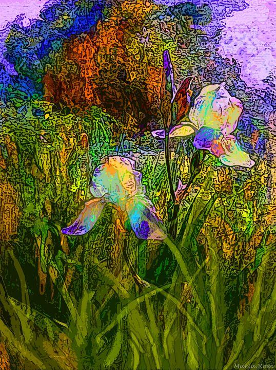 Nature flowers - MARIA MAGIC ART