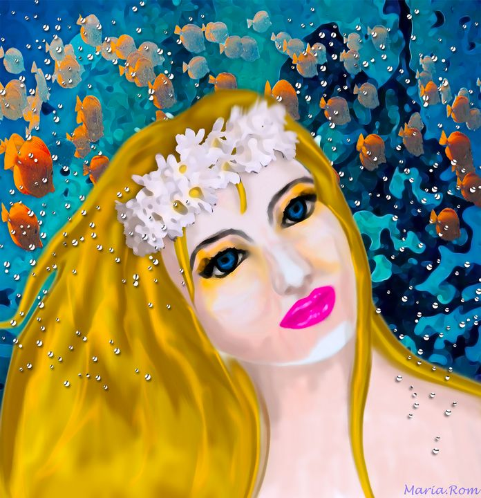 Mermaid - MARIA MAGIC ART
