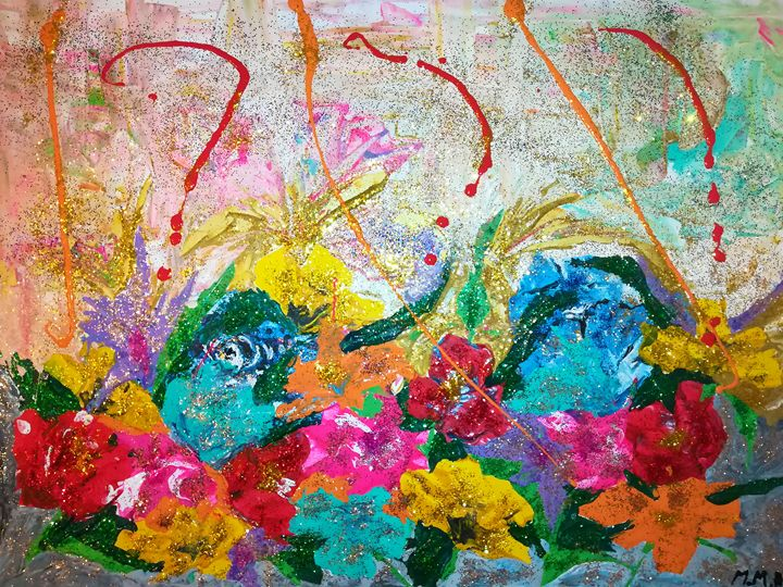 FLOWERS - MARIA MAGIC ART
