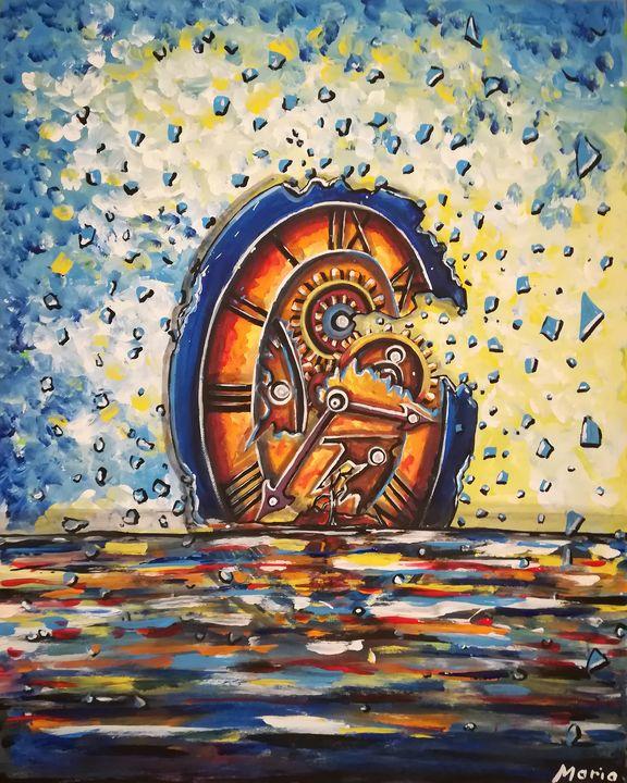Time clock - MARIA MAGIC ART