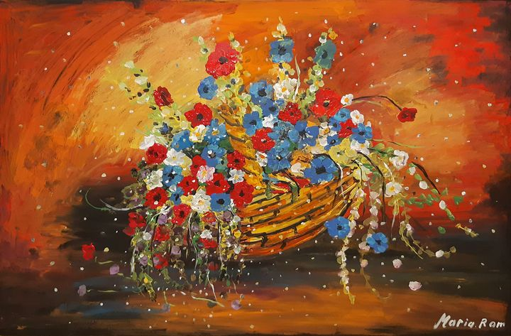 Flowers - MARIA MAGIC ART