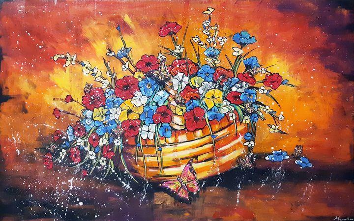 Spring flowers - MARIA MAGIC ART