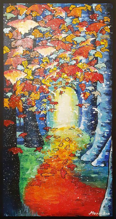 Spring Landscape - MARIA MAGIC ART