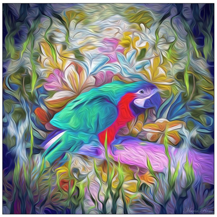 Parrot - MARIA MAGIC ART
