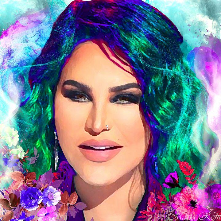 Oriental beauty artist singer - MARIA MAGIC ART