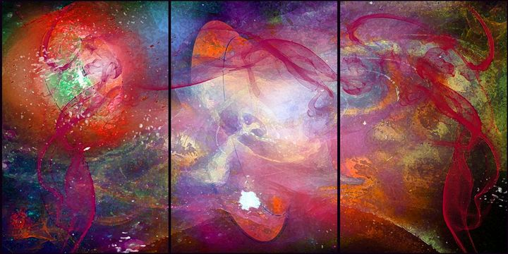Outer space - MARIA MAGIC ART