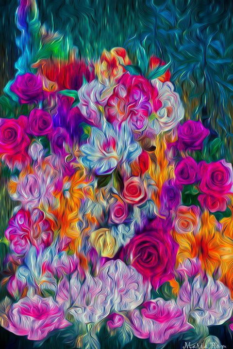 Paradise Garden - MARIA MAGIC ART