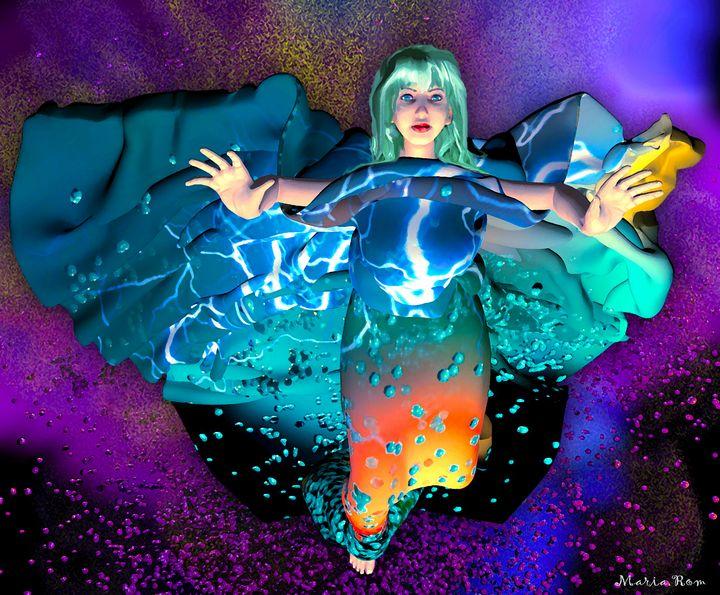 Dream space - MARIA MAGIC ART