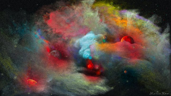 Nebula2 - MARIA MAGIC ART