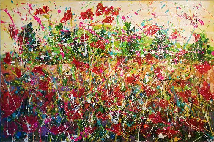 LAND FLOWERS - MARIA MAGIC ART