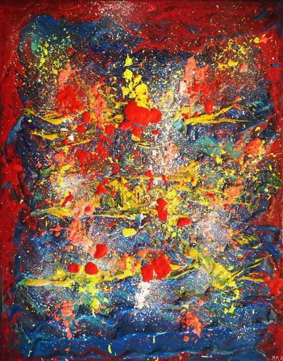 Space between parallel worlds - MARIA MAGIC ART