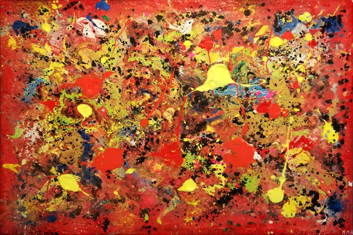 Blood explosion - MARIA MAGIC ART
