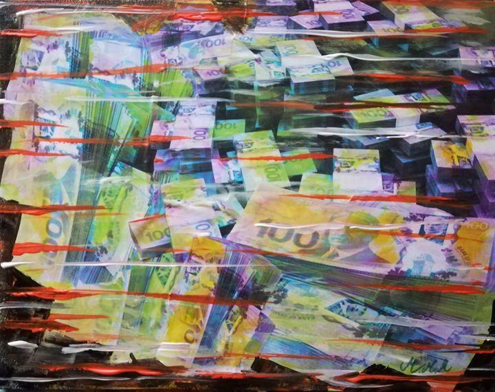 Canadian dollars - MARIA MAGIC ART