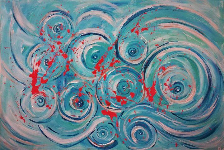 WAVE - MARIA MAGIC ART