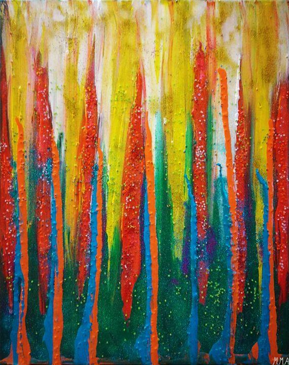 COLORFUL GRACE - MARIA MAGIC ART
