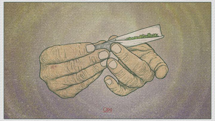 Roll up - Illustrations
