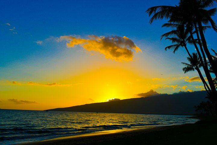 Hawaiian Sunset - Kari Ann Jamison Photography