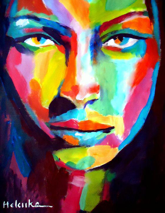 """""""Deep gaze"""" - Helenka's Artwork"""