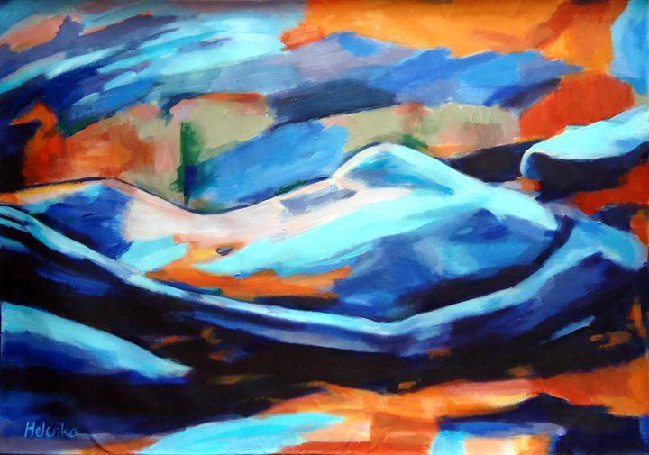 """Portrait of a figure"" - Helenka's Artwork"