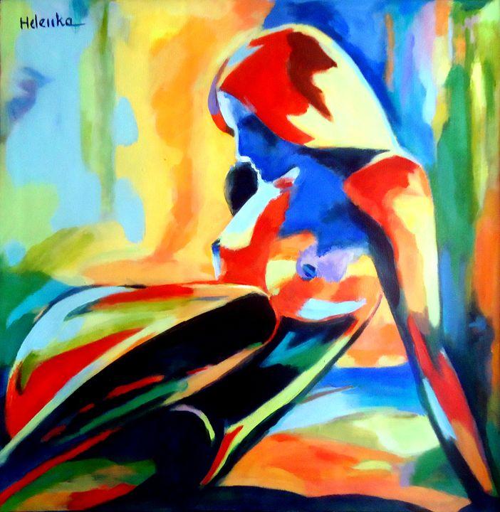 """Dazzling figure"" - Helenka's Artwork"
