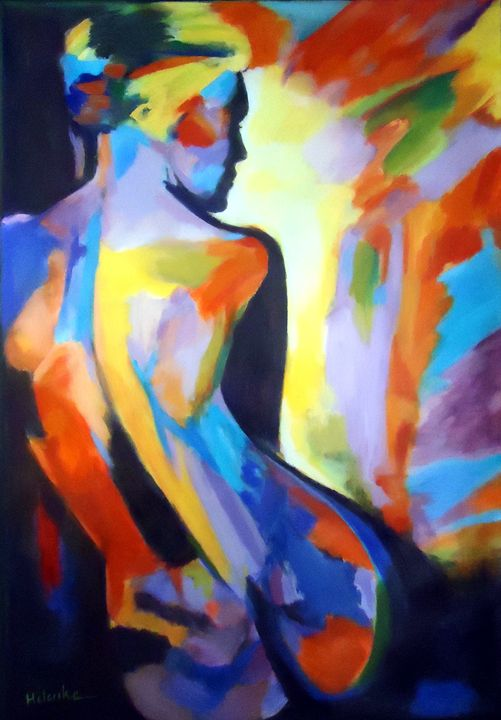 """""""Inner arsonist"""" - Helenka's Artwork"""