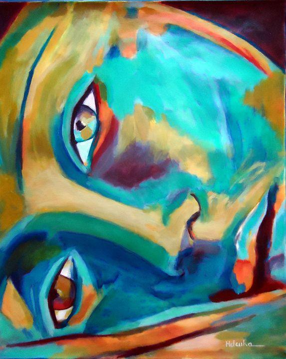 """""""Doorway to the heart"""" - Helenka's Artwork"""