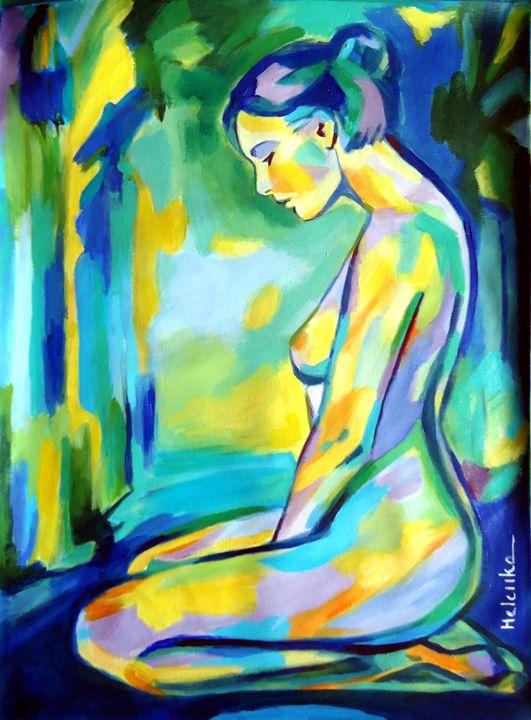 """Gilded glow"" - Helenka's Artwork"
