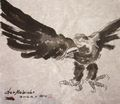 Eagle Chinese Ink Freehand - Rui Baoxuan gallery