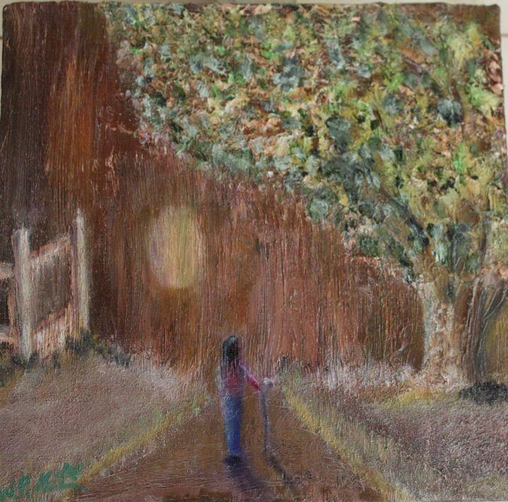 along the pathway. - billys art...