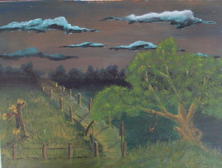 nights coming. - billys art...