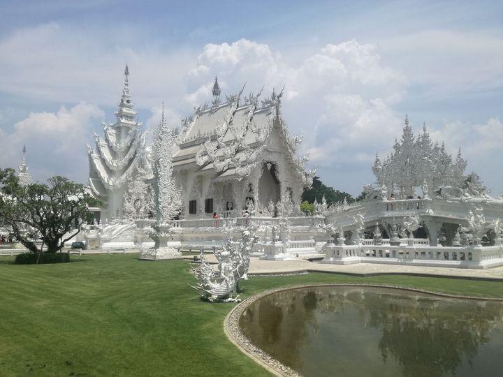 Silver temple. - billys art...
