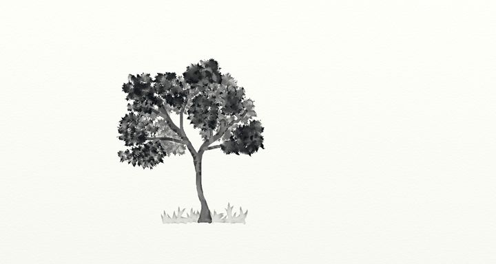 Just a Simple Tree - Huan Palyama Gallery