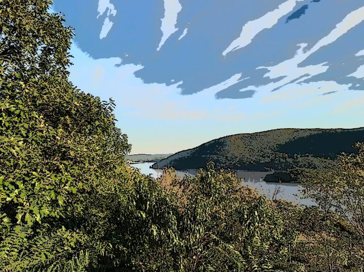 River Mountain Sky - Michael A. Galianos