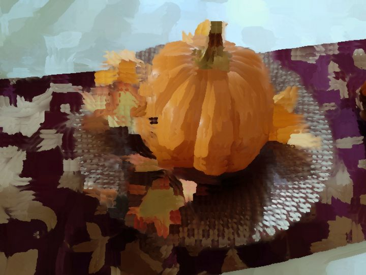 All The Leaves In Round And Pumpkin - Michael A. Galianos