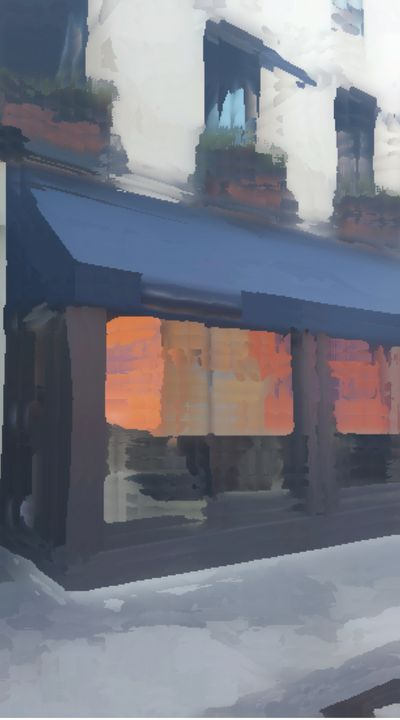 Blue and Orange - Michael A. Galianos