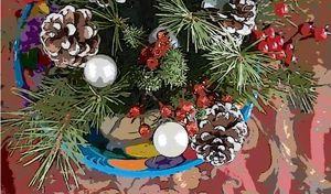 December Cones