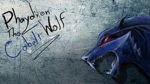 Phaydren The Cobalt Wolf