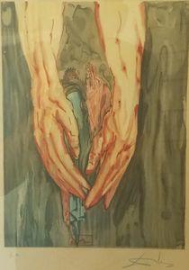 Hell Canto #31 (print) Salvador Dali
