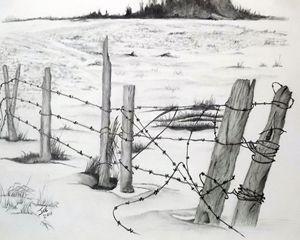 Winter Field - ArtbyJosephB