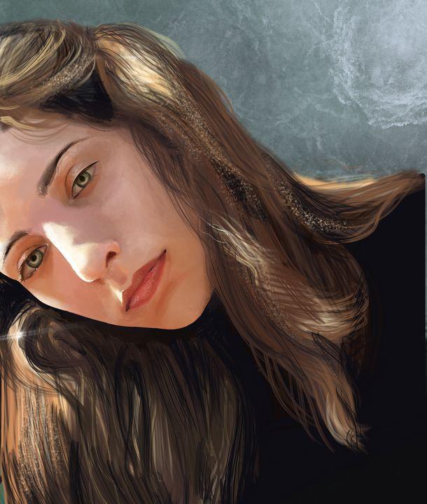 Portrait of Katherine - Natalia // co.nats.y