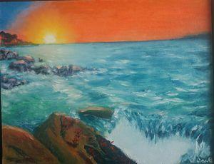 Sun ocean