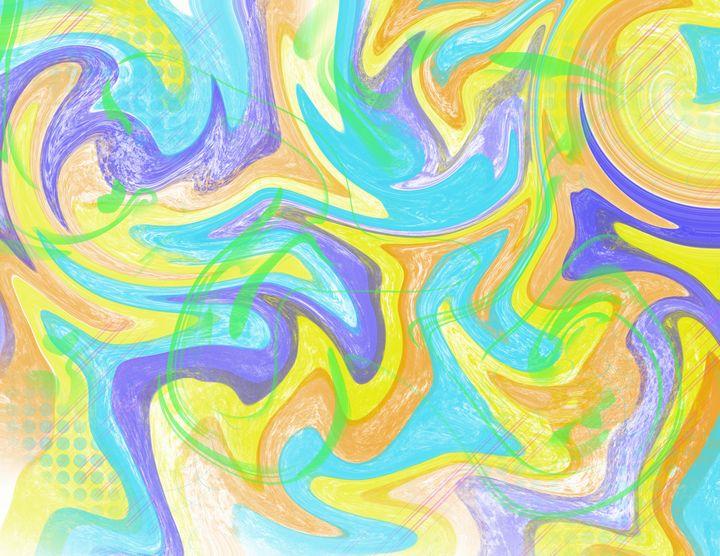 Pastel swirl - Christopher Knoll