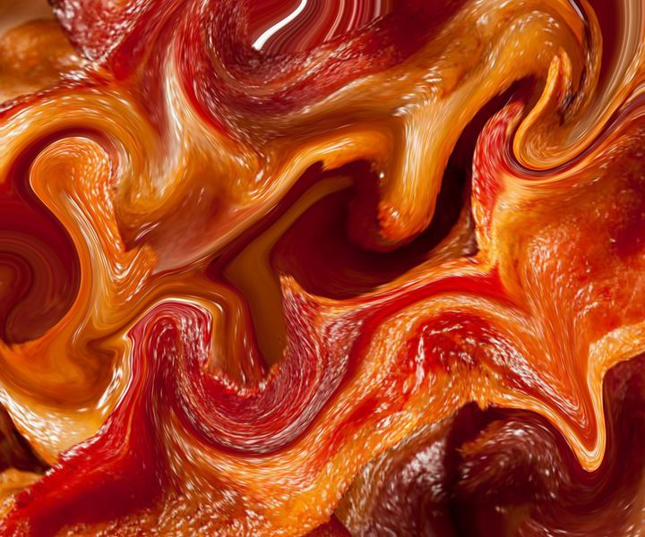 Melting bacon - Christopher Knoll