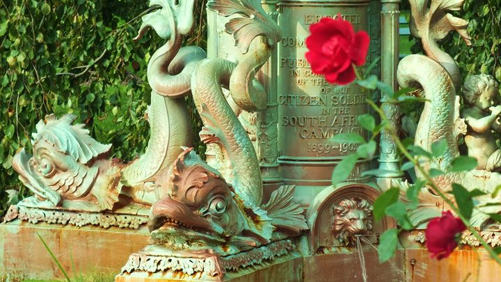 Boer War Memorial Fountain - Photos by Oswin